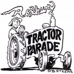 2008 Tractor Parade Graphic from Billy Steers-With Year Removed
